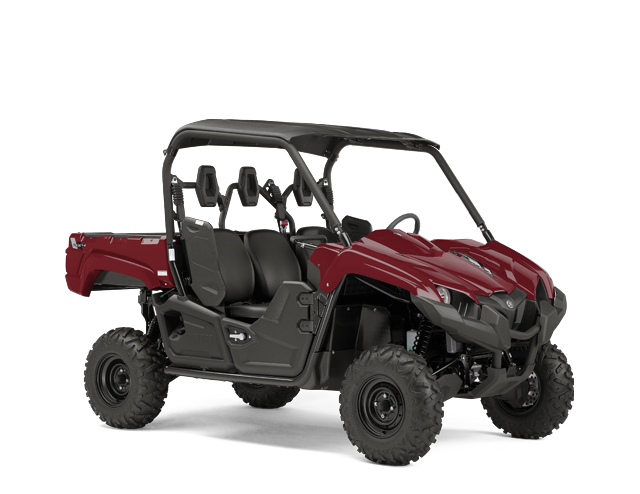 Yamaha Viking, Ridge Red with Suntop