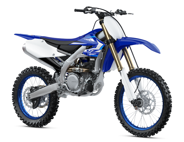 2020 Yamaha YZ450F Motocross Motorcycle - Model Home