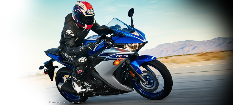 2016 Yamaha YZF R3 Supersport Motorcycle