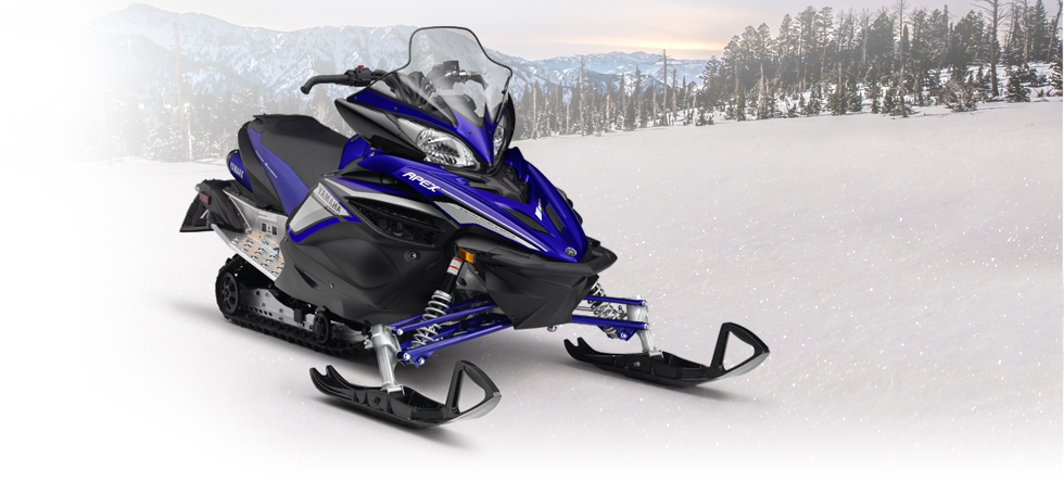 Motorcycle Dealer Near Me >> 2017 Yamaha Apex Trail Snowmobile - Model Home