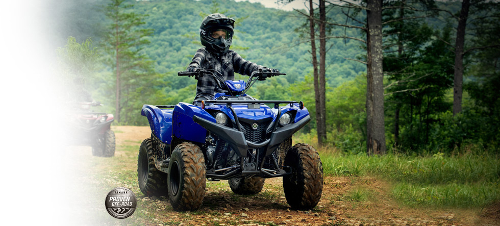 2019 Yamaha Grizzly-90