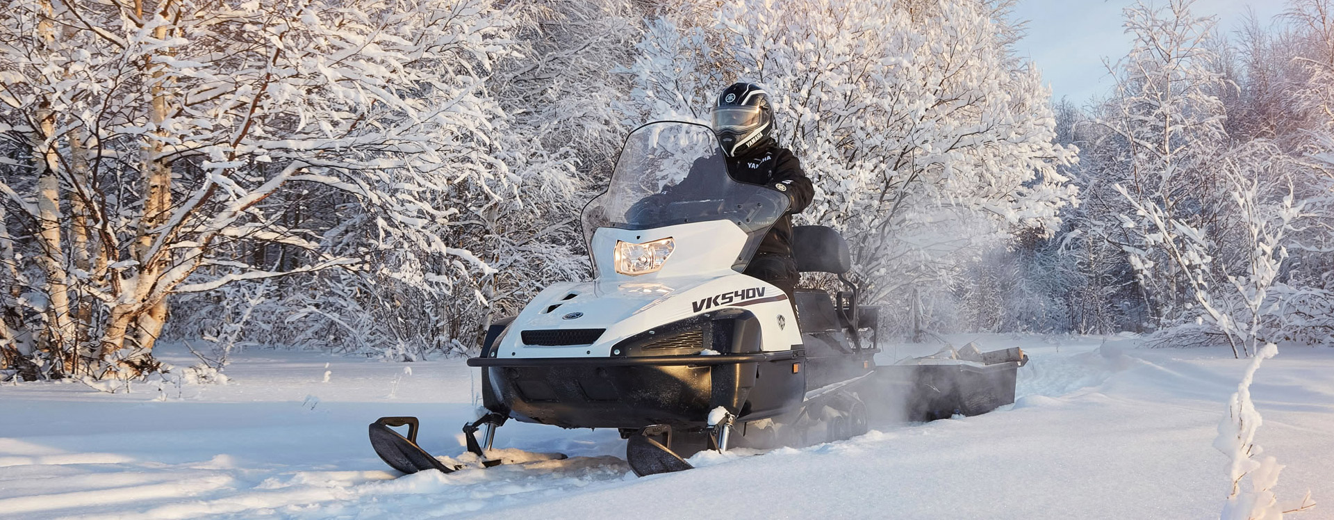 2020 Yamaha VK540 2-up Touring Utility Snowmobile - Model Home