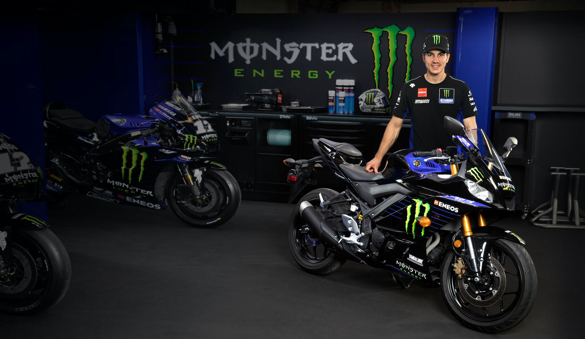 2021 Yamaha Yzf R3 Monster Energy Yamaha Motogp Edition Supersport Motorcycle Model Home