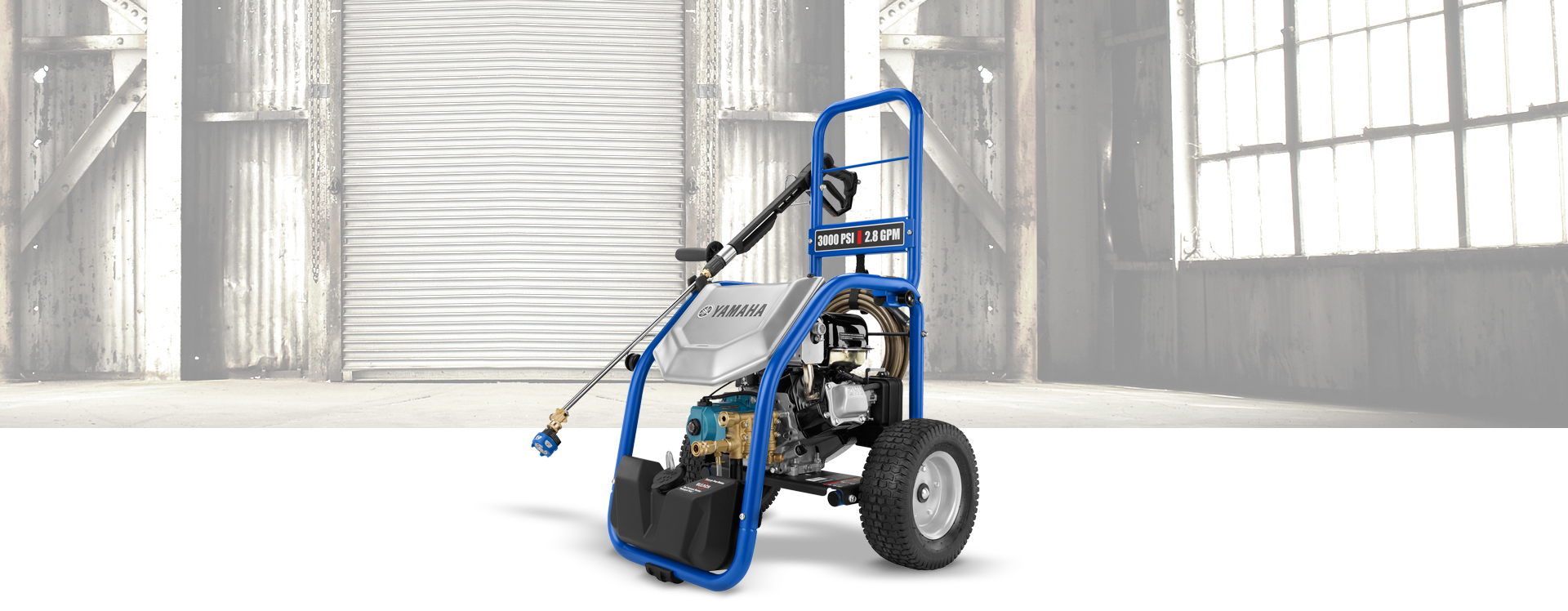 Yamaha PW3028 Pressure Washer - Model Home