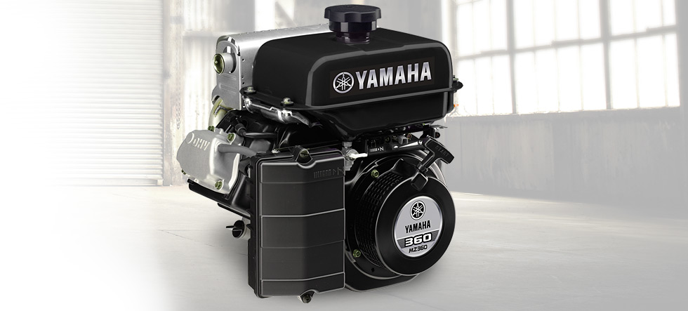 Yamaha MZ360 Multi-Purpose Engine - Model Home