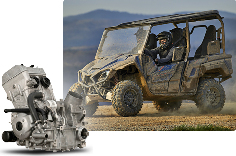 2019 Yamaha Wolverine X4 SE Recreation Side-by-Side - Features