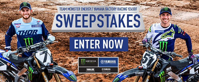 YZ450F Sweepstakes