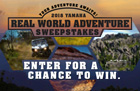 Real World Adventure Sweepstakes