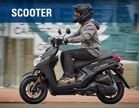 Yamaha Motorcycles - Scooter