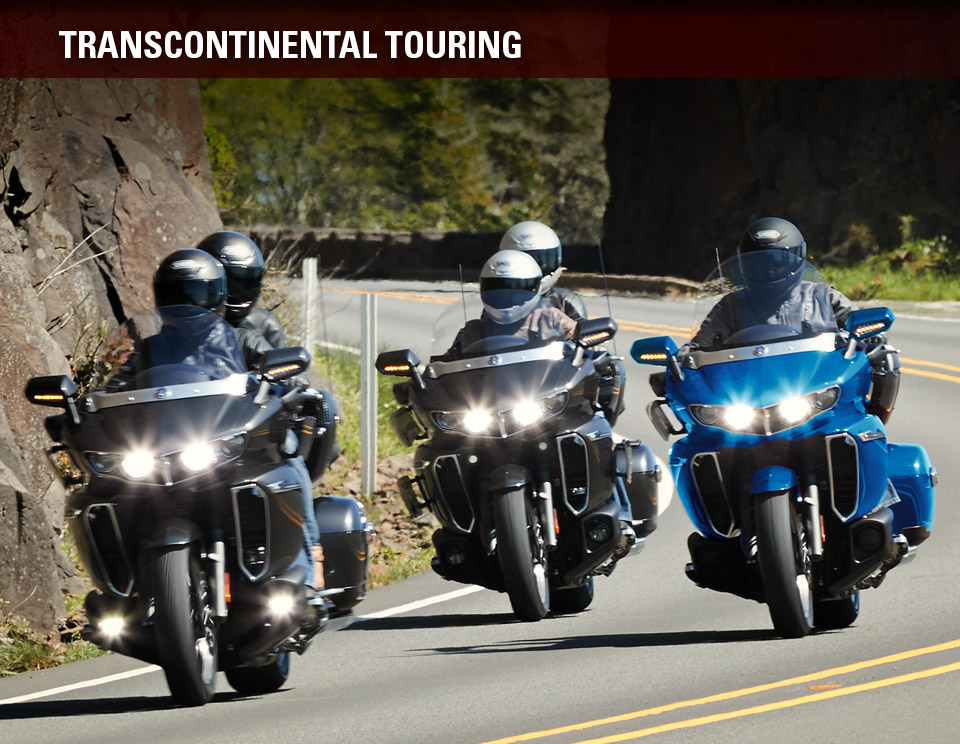 Yamaha Motorcycles - Transcontinental Touring