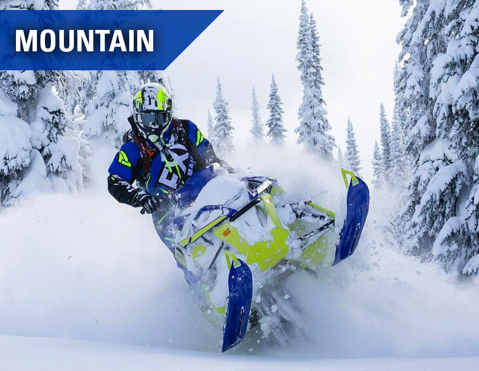 Yamaha Snowmobiles - Mountain
