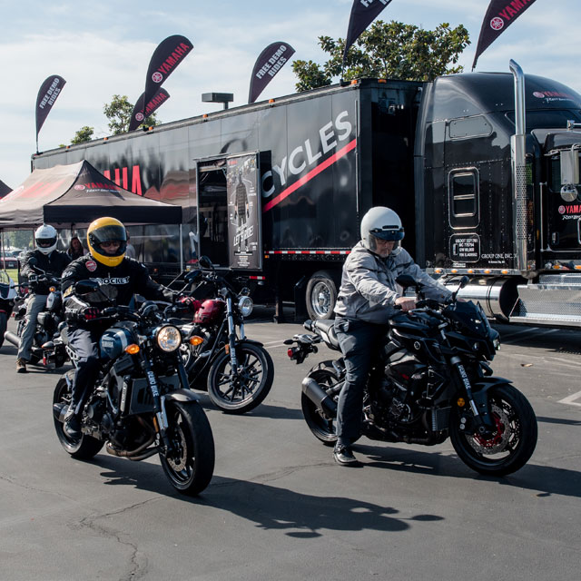 Demo Events - Road & Tour Motorcycle