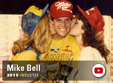 Yamaha Wall of Champions - Mike Bell