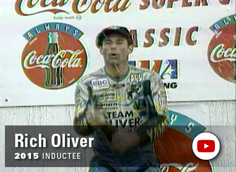 Yamaha Wall of Champions - Rich Oliver