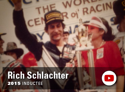 Yamaha Wall of Champions - Rich Schlachter