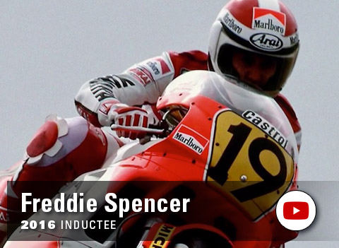 Yamaha Wall of Champions - Freddie Spencer