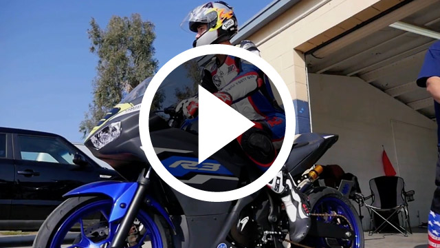 bLU cRU Public Video - Graves Yamaha YZF-R3 Support Program Rider Feature Chase Lyons