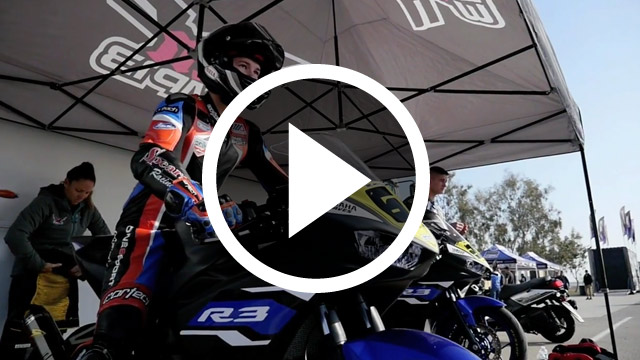 bLU cRU Public Video - Graves Yamaha YZF-R3 Support Program Rider Feature Cory Ventura