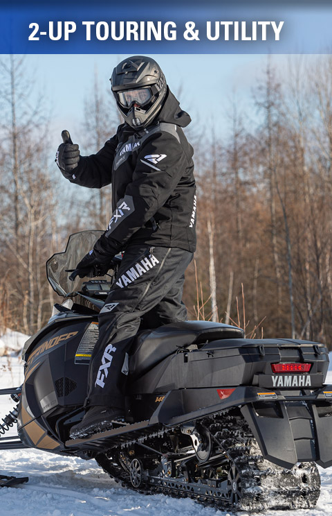 Yamaha Snowmobiles - 2-Up Touring & Utility