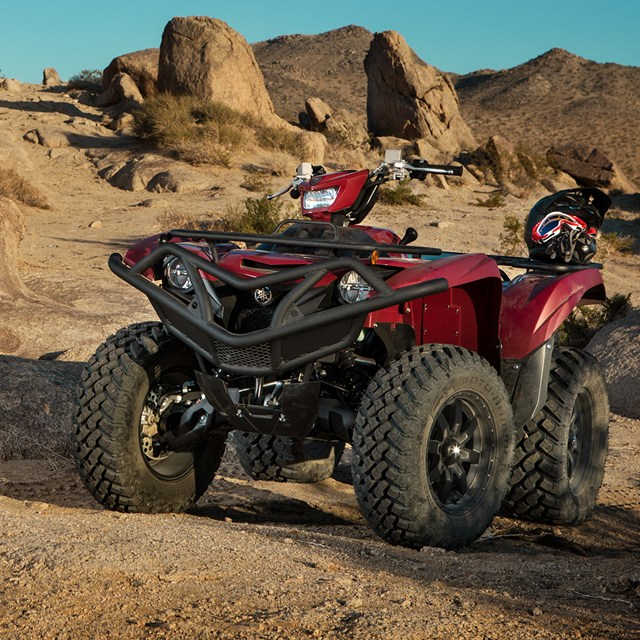 2020 Yamaha Grizzly EPS Utility ATV - Model Home