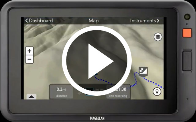 Adventure Pro Video Play Button - Logging