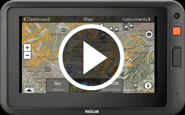 Adventure Pro Video Play Button - Navigation