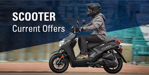 Yamaha Scooter - Current Offers