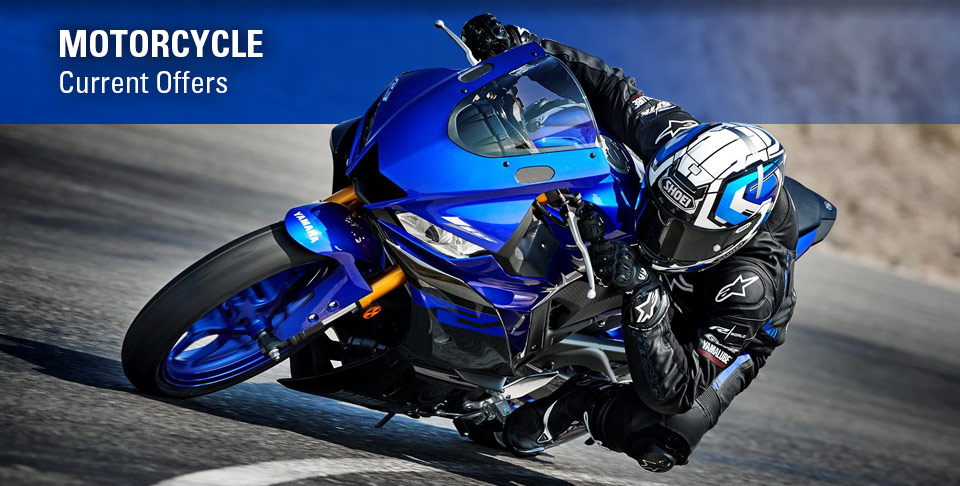 Yamaha Motorcycle - Current Offers