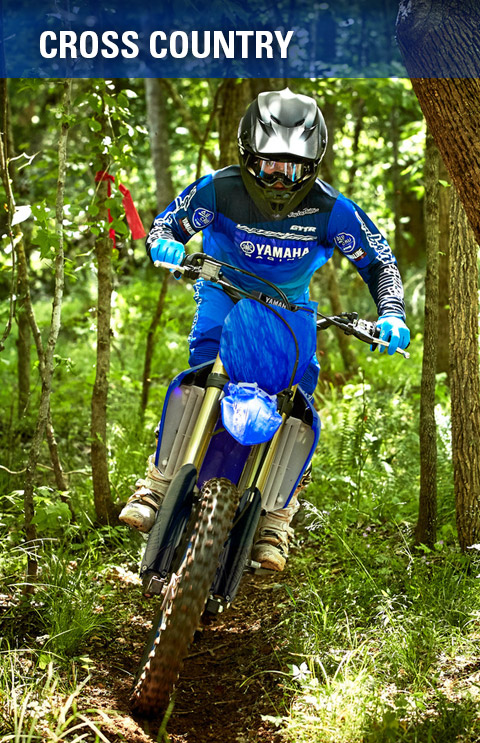 Yamaha Motorcycles - Cross Country