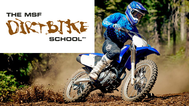 Motorcycle Training - MSF Dirt Bike School