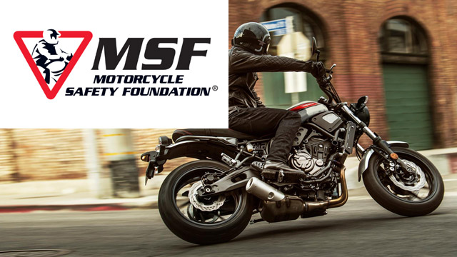 Motorcycle Training - MSF Motorcycle Safety Foundation