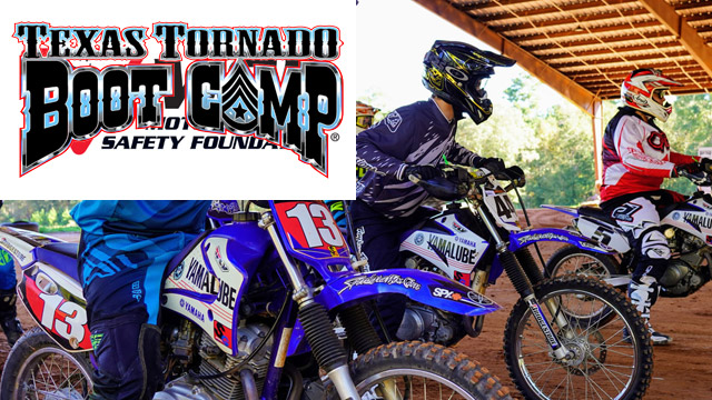 Motorcycle Training - Texas Tornado Boot Camp