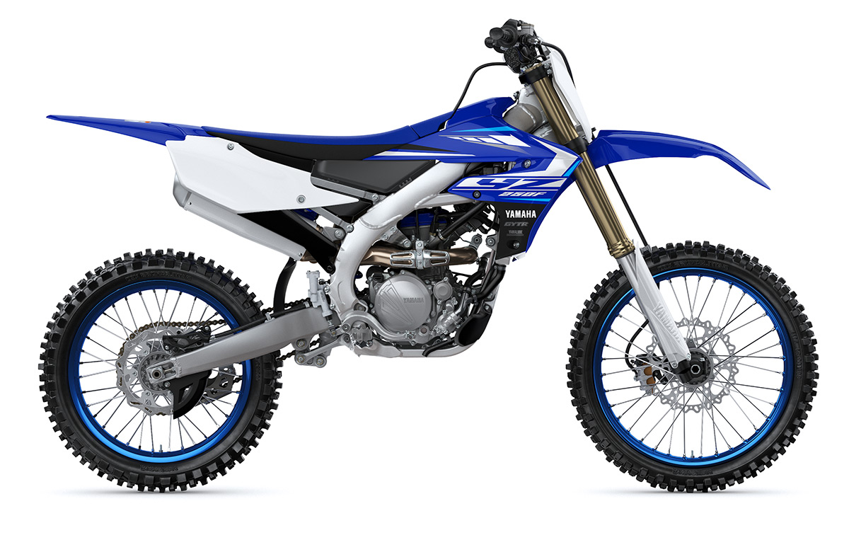 2020 Yamaha YZ250F Motocross Motorcycle - Model Home